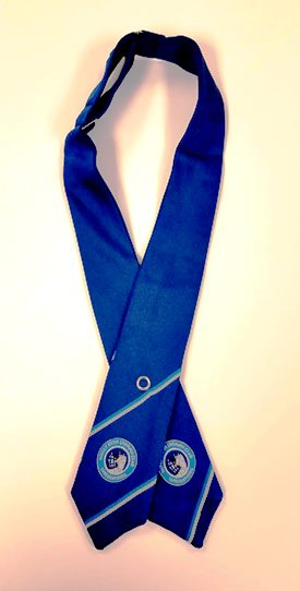 Ladies Blue Tie